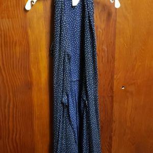 Long rap dress